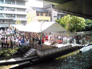 大阪、天神祭