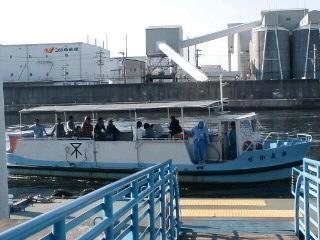 大阪市営渡船、甚兵衛渡船場