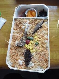 本日の昼ご飯