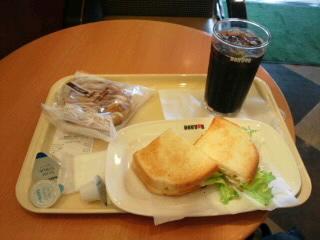 本日の朝飯