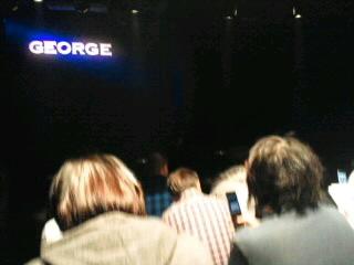 芝居「ジョージ」見に行って来ました