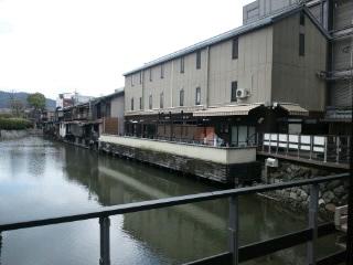 高瀬川のこんな場所、初めて知った